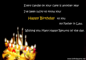 happy birthday quotes father in law