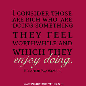 wealth quotes, i consider