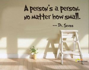Hot Sale Dr Seuss Quote and Sayings Wall Stickers Home Decor Quotes ...