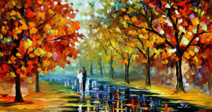 Leonid Afremov, oil on canvas, palette knife, buy original paintings ...