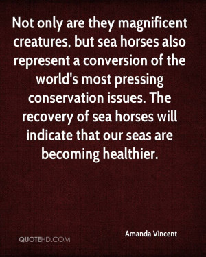 Not only are they magnificent creatures, but sea horses also represent ...