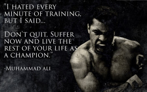 QUOTE OF THE WEEK | MUHAMMAD ALI