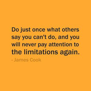 Quote Of The Day: September 3, 2013 - Do just once what others say you ...