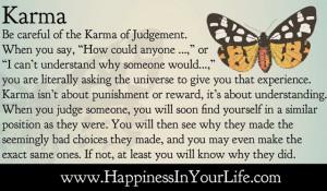 Karma - The Karma of Judgement