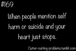 Suicide Self Harm Quotes Tumblr