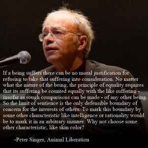 Peter Singer motivational inspirational love life quotes sayings ...