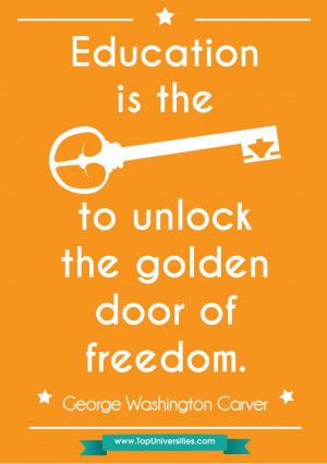Quotes On Education And Freedom ~ Pin by QS Top Universities on Quotes ...