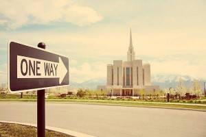 The implication, of course, is that Mormon temples — or perhaps more ...