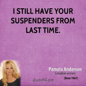 Pamela Anderson Quote