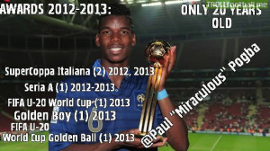 Best Young Talent - Paul Pogba