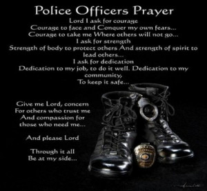 Police Officers Prayer Graphics Code Ments