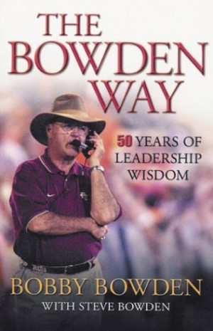 Quotes Temple Bobby Bowden Quotes