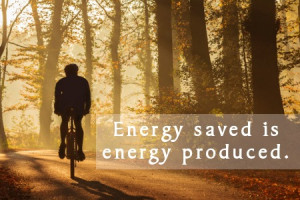 Save energy slogan
