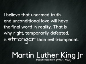 Best of martin luther king jr quotes on evil