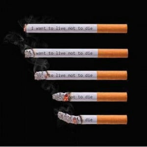 Don't smoke cigarettes. Smoke weed!