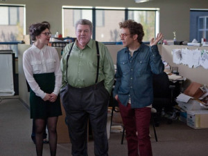 Still of George Wendt, Fred Armisen and Carrie Brownstein in ...