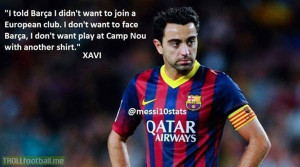 Xavi wanted to stay only at Barca