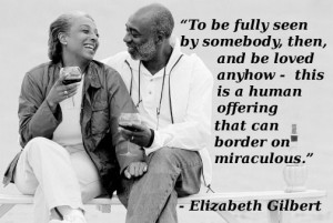Elizabeth Gilbert. #love this is so perfect. A person doesn't know how ...