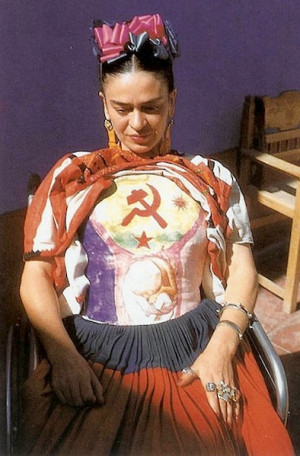 Even at a young age, Frida Kahlo challenged the status quo: As a girl ...