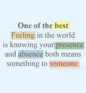 one of the best feeling in the world is when you hug someone you