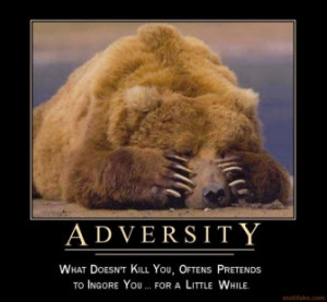 Helt on adversity.....