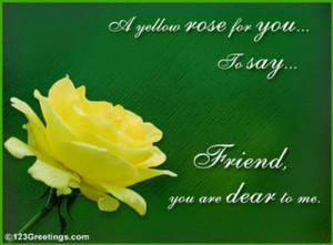 ... yellow friendship rose for reesh yellow friendship rose for reesh