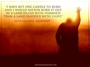 Have But One Candle to Burn - Keith Falconer
