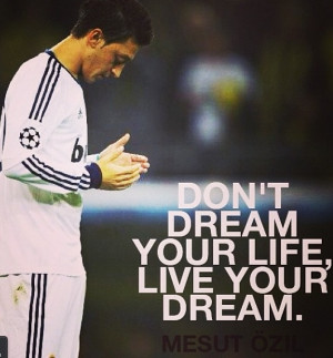 Quote from Mesut Özil