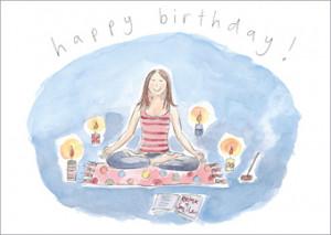 Поздравление йогу с днем рождения