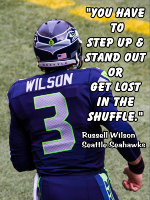 Russell Wilson Poster Seattle Seahawks Photo Quote Fan Wall Art Print ...