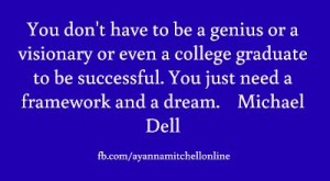 Michael #Dell Quote.