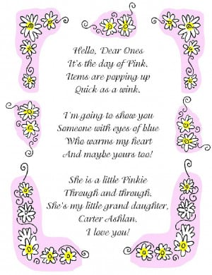 Sweet 16 Poems For Granddaughter. Sweet Sixteen Poem For Granddaughter ...