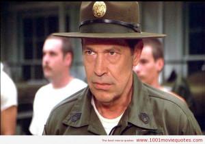 My name is Gunnery Sergeant Highway. I've drunk more beer, banged ...