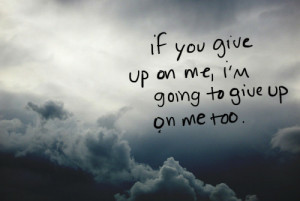 crying, depression, give up, life, love, quote, quotes, sad, sadness ...