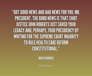 Quote Ron Fournier Got Good...