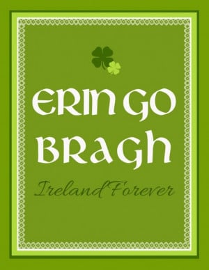Funny quotes eringo bragh this is saint patricks day quote in green ...