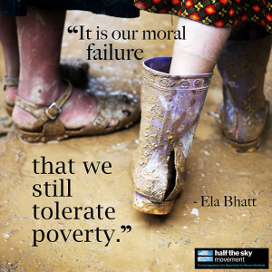 World Banking, Ela Bhatt has been working to lift women out of poverty ...
