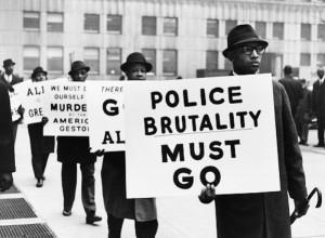 "Police Brutality Must Go,"" Black Muslim Protest, 1963 Photo credit ..."