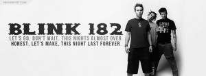 Blink 182 First Date Lyrics Blink 182 Up All Night Quote