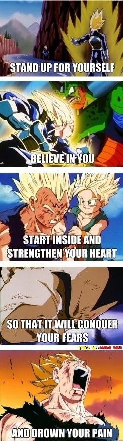 Dragon Ball Z Vegetas Best Quotes ~ DeviantART More Like Manly Vegeta ...