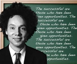 Malcolm Gladwell's secrets of success