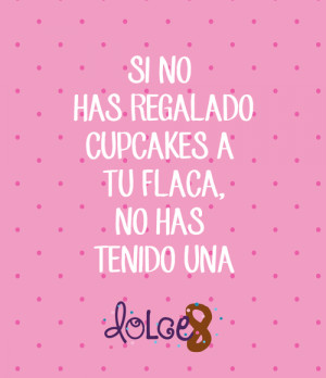 Most popular tags for this image include dolce8 cupcakes frases