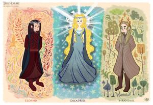Hobbit Elves Chihariel