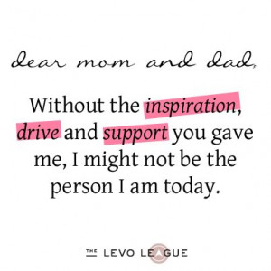 thank you mom and dad | ... : Listen Up Mom and Dad, I'm Saying ...