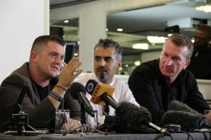NEW BESTIES: Tommy Robinson, EDL, Maajid Nawaz, former member of ...