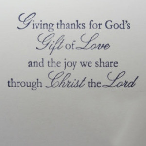 Sayings for Thanks givings