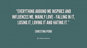 Back > Quotes For > Christina Perri Quotes