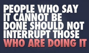 Steamroll Negative People – Quote
