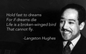 Black History Month Spotlight Day 1- American Poet Langston Hughes