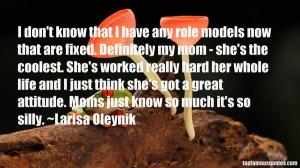 Favorite Larisa Oleynik Quotes